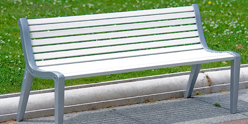 Paseo bench