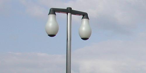 Farola Urbes con luminaria