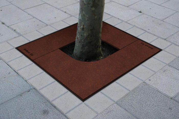 Corten Tree Pit