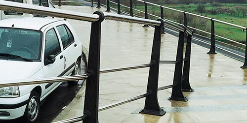 Castro tubular handrail
