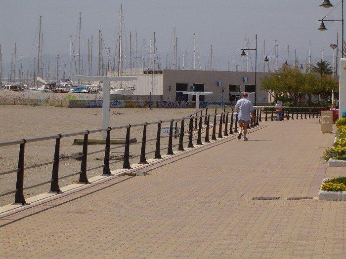 Paseo maritimo de Levante-Almerimar (EL Ejido)