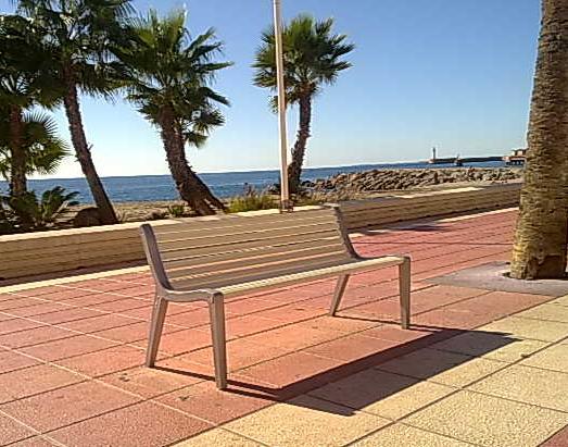 Paseo marítimo Almeria