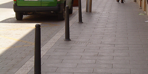 800 mm cylindrical Anti-parking Post