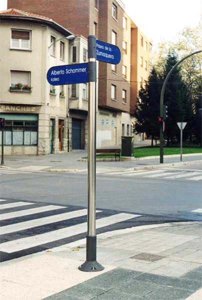 Señalización de Calles Vitoria