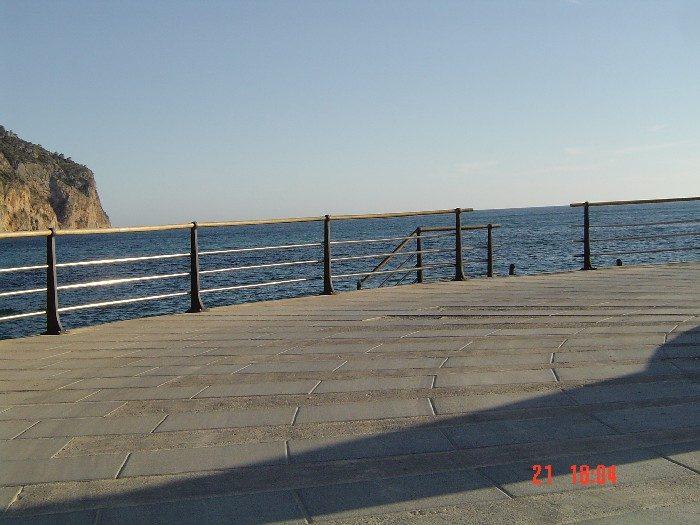 Paseo Platja de Ses Dones en Andraitx (Mallorca)