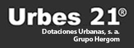 Urbes 21 Mobiliario Urbano Logo